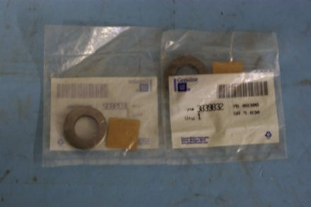 1963-1982 Corvette C2 C3,Rear Wheel Bearing Shield Washer,New,Box C